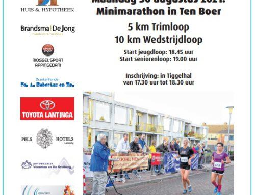 Mini Marathon Ten Boer
